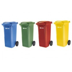 Pack 4 Contenedores 120 Litros Reciclaje