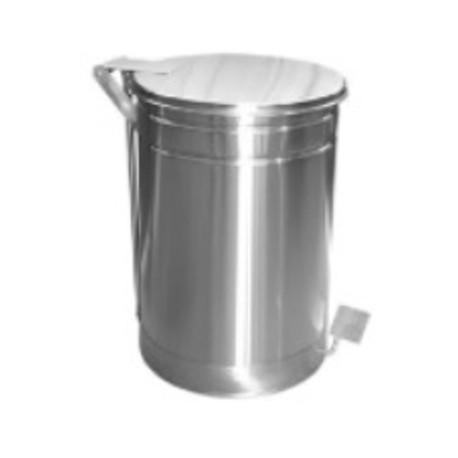 Basurero de Acero Inoxidable 60 litros