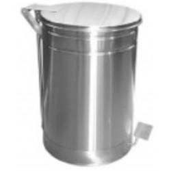 Basurero de Acero Inoxidable 25 litros