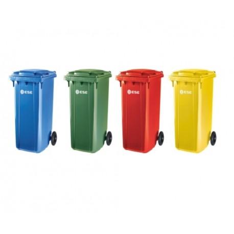 Pack 4 Contenedores 240 litros Reciclaje
